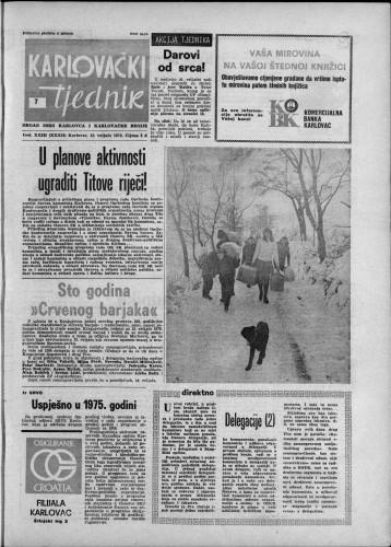 Karlovački tjednik: 1976 • 7
