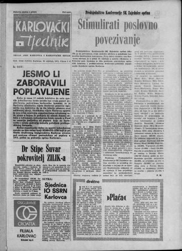 Karlovački tjednik: 1975 • 3