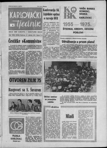 Karlovački tjednik: 1975 • 4