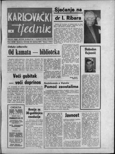 Karlovački tjednik: 1971 • 4