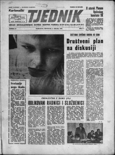 Karlovački tjednik: 1962 • 9