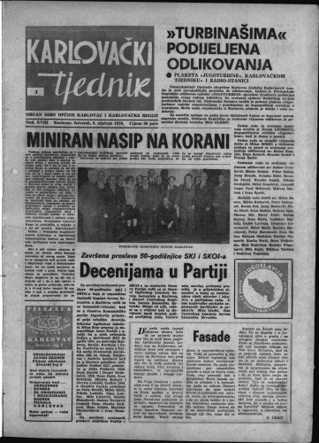 Karlovački tjednik: 1970 • 1