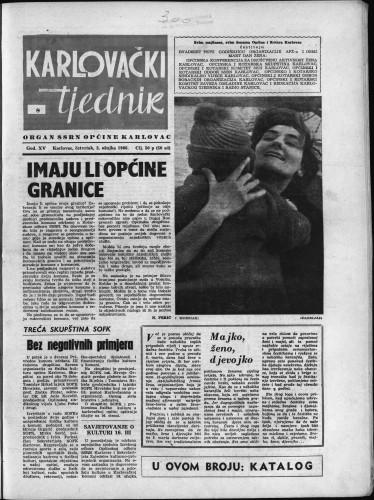 Karlovački tjednik: 1966 • 8