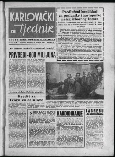 Karlovački tjednik: 1965 • 6