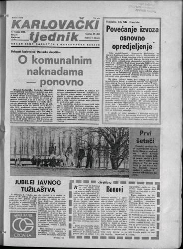 Karlovački tjednik: 1980 • 6