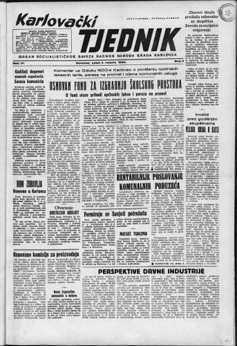 Karlovački tjednik: 1956 • 5