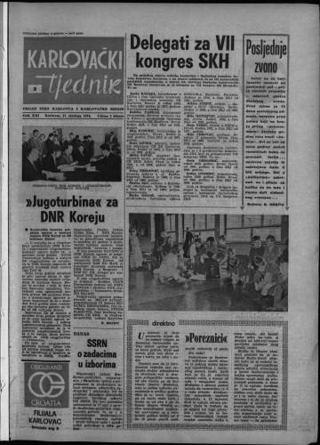 Karlovački tjednik: 1974 • 3