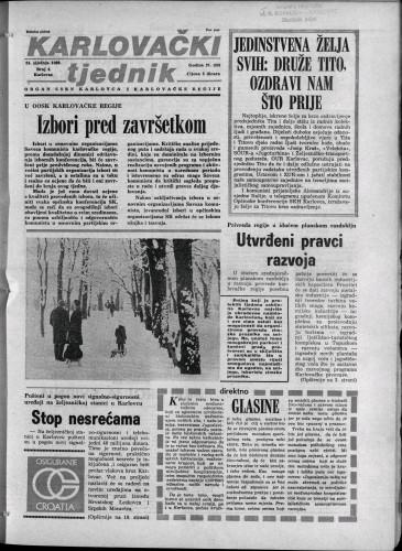 Karlovački tjednik: 1980 • 4