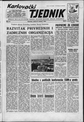 Karlovački tjednik: 1956 • 4