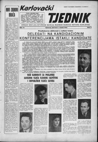 Karlovački tjednik: 1958 • 6