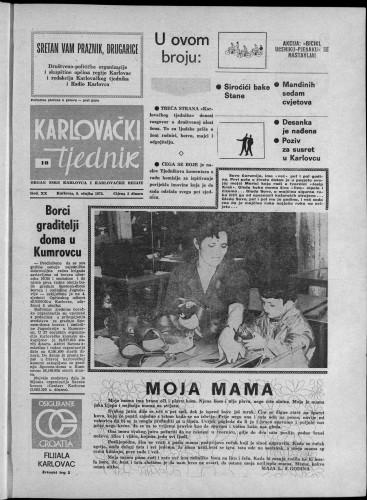 Karlovački tjednik: 1973 • 10