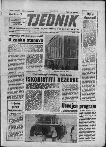Karlovački tjednik: 1963 • 4