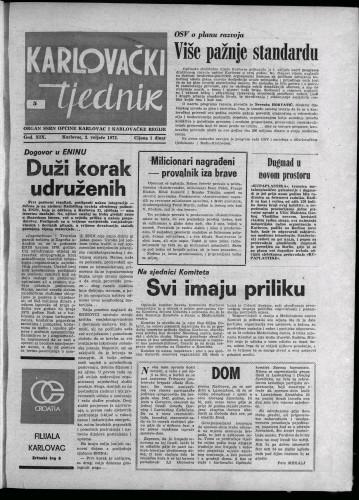 Karlovački tjednik: 1972 • 5