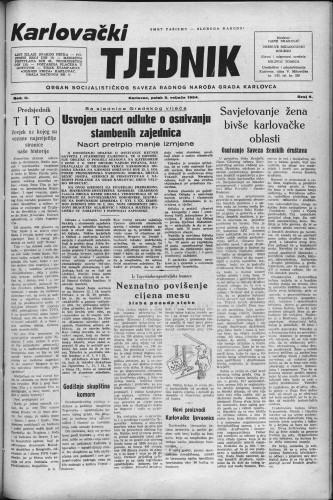 Karlovački tjednik: 1954 • 6