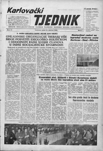 Karlovački tjednik: 1955 • 2