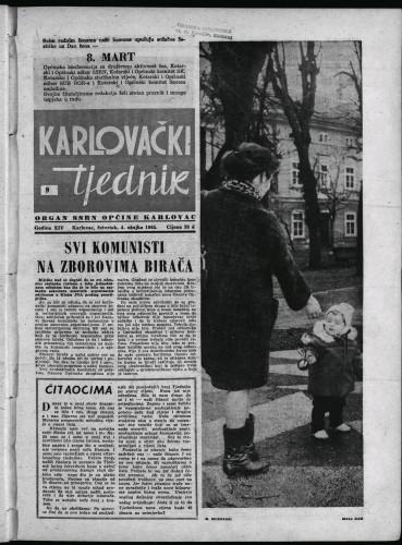 Karlovački tjednik: 1965 • 9