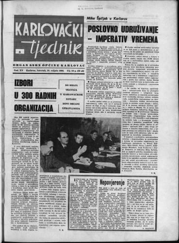 Karlovački tjednik: 1966 • 5