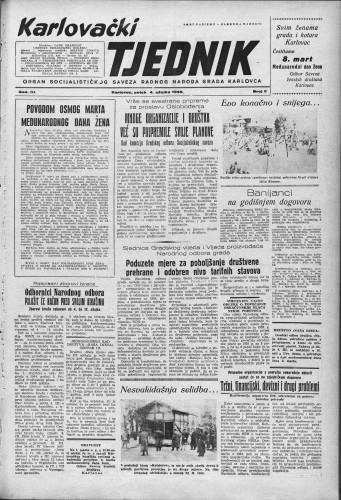 Karlovački tjednik: 1955 • 9
