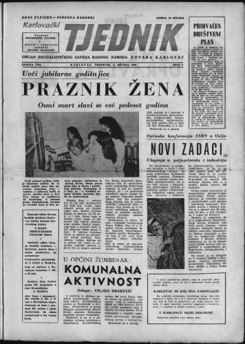 Karlovački tjednik: 1960 • 8