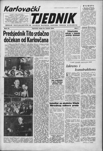 Karlovački tjednik: 1955 • 7