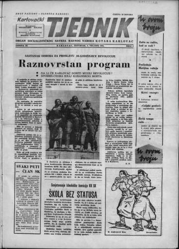 Karlovački tjednik: 1961 • 4