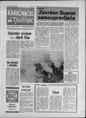 Karlovački tjednik: 1975 • 8