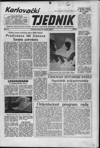 Karlovački tjednik: 1956 • 8
