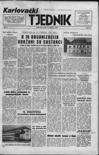 Karlovački tjednik: 1953 • 6