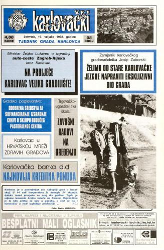 Karlovački tjednik: 1998 • 8