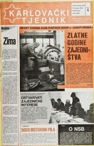 Karlovački tjednik: 1987 • 4