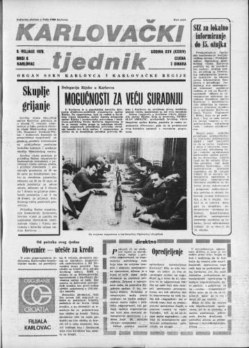 Karlovački tjednik: 1978 • 6
