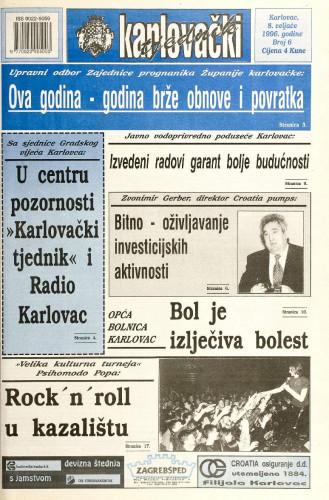 Karlovački tjednik: 1996 • 6