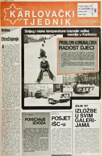 Karlovački tjednik: 1987 • 3