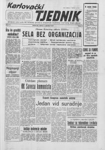 Karlovački tjednik: 1957 • 05