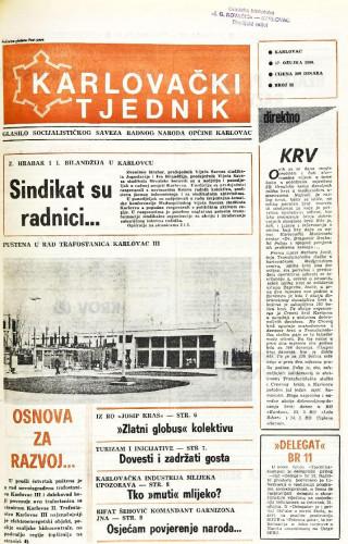 Karlovački tjednik: 1988 • 11