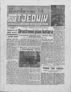 Karlovački tjednik: 1957 • 10