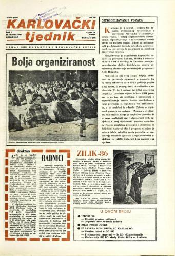 Karlovački tjednik: 1986 • 3
