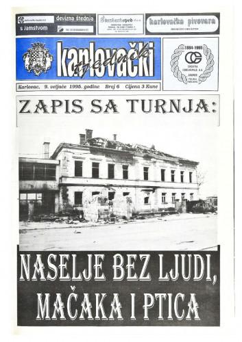 Karlovački tjednik: 1995 • 6