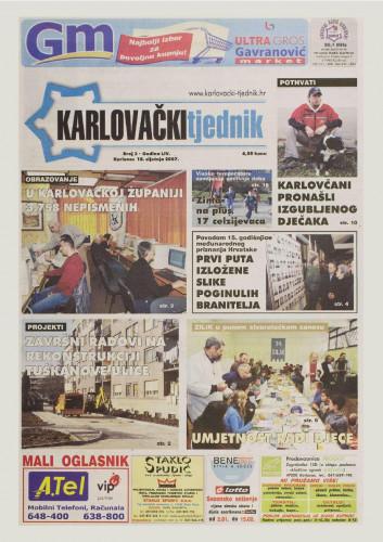 Karlovački tjednik: 2007 • 3