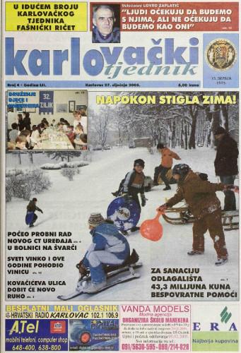 Karlovački tjednik: 2005 • 4