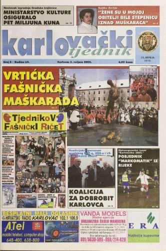 Karlovački tjednik: 2005 • 5