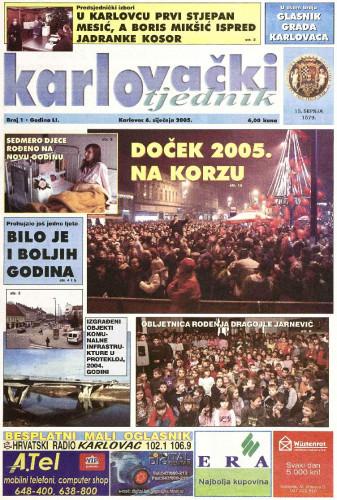 Karlovački tjednik: 2005 • 1