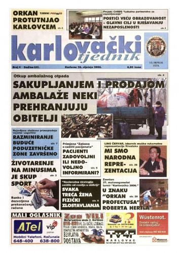 Karlovački tjednik: 2006 • 4