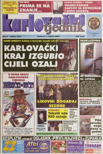 Karlovački tjednik: 2002 • 6