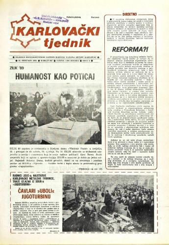 Karlovački tjednik: 1989 • 4