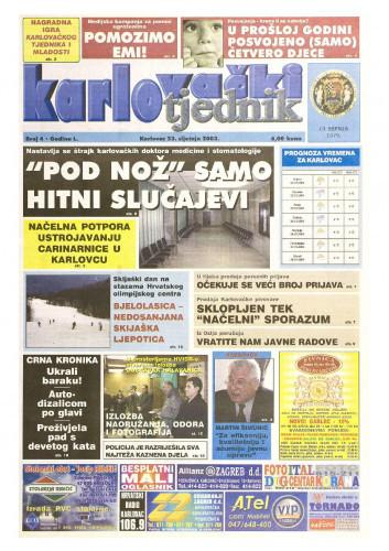 Karlovački tjednik: 2003 • 04