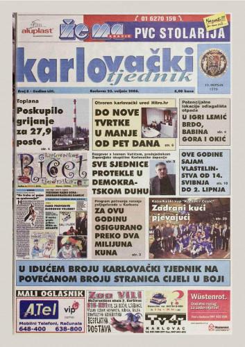 Karlovački tjednik: 2006 • 8