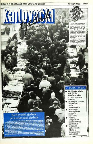 Karlovački tjednik: 1991 • 9