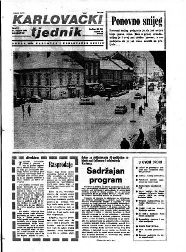 Karlovački tjednik: 1985 • 6