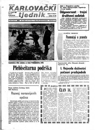 Karlovački tjednik: 1983 • 6